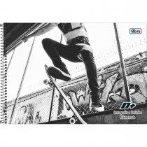 Imagem - Caderno Espiral Capa Dura Cartografia e Desenho Milimetrado D+ Masculino 96 Folhas - Sortido (Pacote com 4 unidades)...