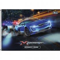 Imagem - Caderno Espiral Capa Dura Cartografia e Desenho X-Racing 96 Folhas - Sortido (Pacote com 4 unidades)