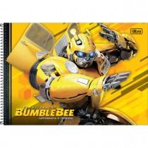 Imagem - Caderno Espiral Capa Dura Cartografia Transformers 80 Folhas (Pacote com 4 unidades) - Sortido