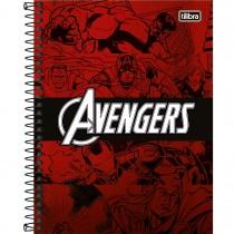 Imagem - Caderno Espiral Capa Dura Colegial 1 Matéria Avengers Heroes 80 Folhas (Pacote com 4 unidades) - Sortido...