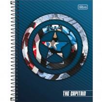 Imagem - Caderno Espiral Capa Dura Colegial 1 Matéria Avengers Heroes 80 Folhas - Sortido (Pacote com 4 unidades)...