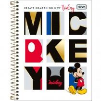 Imagem - Caderno Espiral Capa Dura Colegial 1 Matéria Mickey 80 Folhas (Pacote com 4 unidades) - Sortido