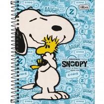 Imagem - Caderno Espiral Capa Dura Colegial 1 Matéria Snoopy Vintage 80 Folhas - Sortido (Pacote com 4 unidades)...