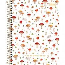 Imagem - Caderno Espiral Capa Dura Colegial 10 Matérias Loveland 160 Folhas (Pacote com 4 unidades) - Sortido