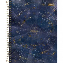 Imagem - Caderno Espiral Capa Dura Colegial 10 Matérias Magic 160 Folhas