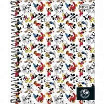 Imagem - Caderno Espiral Capa Dura Colegial 10 Matérias Mickey 90 anos 160 Folhas - Sortido (Pacote com 4 unidades)...