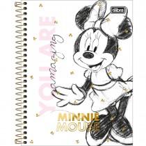 Imagem - Caderno Espiral Capa Dura Colegial 10 Matérias Minnie 160 Folhas (Pacote com 4 unidades) - Sortido