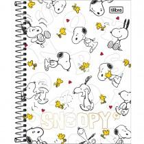 Imagem - Caderno Espiral Capa Dura Colegial 10 Matérias Snoopy 160 Folhas (Pacote com 4 unidades) - Sortido