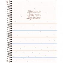 Imagem - Caderno Espiral Capa Dura Colegial 10 Matérias Soho 160 Folhas - Sortido