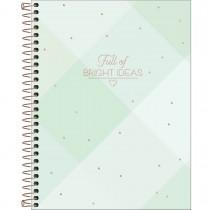 Imagem - Caderno Espiral Capa Dura Colegial 10 Matérias Soho 160 Folhas - Xadrez Full of Bright Ideas - Sortido...