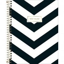 Imagem - Caderno Espiral Capa Dura Colegial 10 Matérias West Village 160 Folhas - Sortido