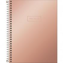 Imagem - Caderno Espiral Capa Dura Colegial 10 Matérias West Village Metalizado 160 Folhas - Sortido