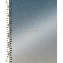 Imagem - Caderno Espiral Capa Dura Colegial 10 Matérias West Village Metalizado 160 Folh...