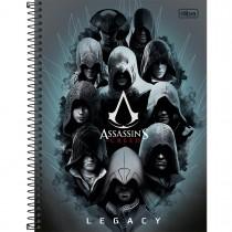 Imagem - Caderno Espiral Capa Dura Universitário 1 Matéria Assassin's Creed 96 Folhas - Sortido (Pacote com 4 unidades)...