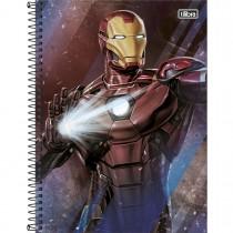 Imagem - Caderno Espiral Capa Dura Universitário 1 Matéria Avengers 80 Folhas (Pacote com 4 unidades) - Sortido...