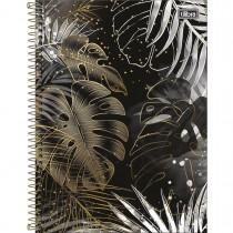Imagem - Caderno Espiral Capa Dura Universitário 1 Matéria B&W 80 Folhas (Pacote com 4 unidades) - Sortido