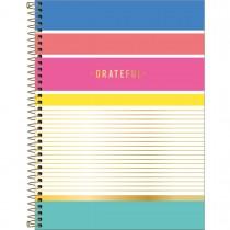 Imagem - Caderno Espiral Capa Dura Universitário 1 Matéria Be Nice 80 Folhas - Grateful - Sortido