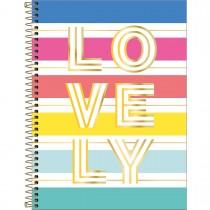 Imagem - Caderno Espiral Capa Dura Universitário 1 Matéria Be Nice 80 Folhas - Lovely - Sortido