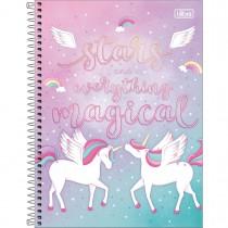 Imagem - Caderno Espiral Capa Dura Universitário 1 Matéria Blink 80 Folhas - Stars and Everything Magical - Sortido...
