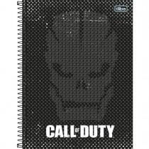 Imagem - Caderno Espiral Capa Dura Universitário 1 Matéria Call of Duty 80 Folhas - Sortido