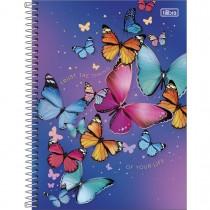 Imagem - Caderno Espiral Capa Dura Universitário 1 Matéria Daisy 80 Folhas (Pacote com 4 unidades) - Sortido