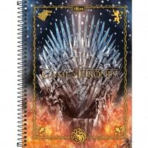Imagem - Caderno Espiral Capa Dura Universitário 1 Matéria Game of Thrones 80 Folhas (Pacote com 4 unidades) - Sortido...