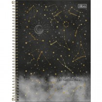 Imagem - Caderno Espiral Capa Dura Universitário 1 Matéria Magic 80 Folhas - Just Like Moon - Sortido