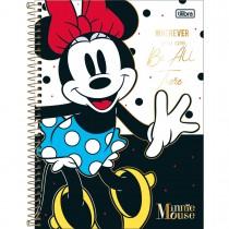 Imagem - Caderno Espiral Capa Dura Universitário 1 Matéria Minnie Core 80 Folhas (Pacote com 4 unidades) - Sortido...