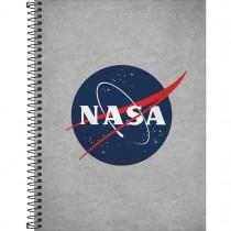 Imagem - Caderno Espiral Capa Dura Universitário 1 Matéria Nasa 80 Folhas - Sortido