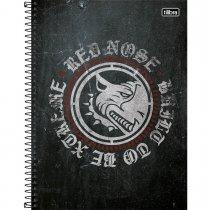 Imagem - Caderno Espiral Capa Dura Universitário 1 Matéria Red Nose 80 Folhas - Sortido (Pacote com 4 unidades)...