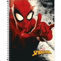 Imagem - Caderno Espiral Capa Dura Universitário 1 Matéria Spider-Man 80 Folhas (Pacote com 4 unidades) - Sortido...
