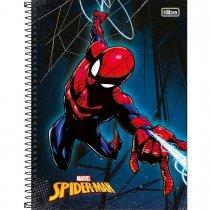 Imagem - Caderno Espiral Capa Dura Universitário 1 Matéria Spider-Man 96 Folhas - Sortido (Pacote com 4 unidades)...