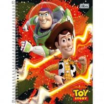Imagem - Caderno Espiral Capa Dura Universitário 1 Matéria Toy Story 96 Folhas - Sortido (Pacote com 4 unidades)...
