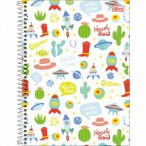 Imagem - Caderno Espiral Capa Dura Universitário 1 Matéria Toy Story Light 80 Folhas (Pacote com 4 unidades) - Sortido...