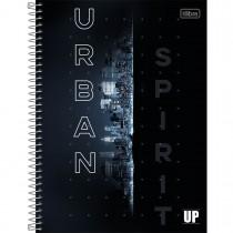 Caderno Espiral Capa Dura Universitário 1 Matéria UP 80 Folhas (Pacote com 4 unidades) - Sortido