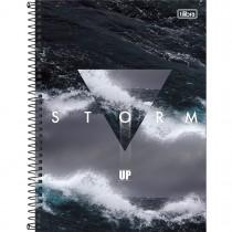 Imagem - Caderno Espiral Capa Dura Universitário 1 Matéria UP 80 Folhas - Storm - Sortido