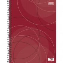 Imagem - Caderno Espiral Capa Dura Universitário 1 Matéria Zip 96 Folhas - Sortido (Pacote com 4 unidades)