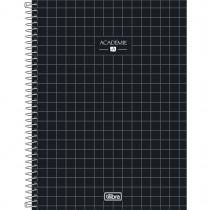 Imagem - Caderno Espiral Capa Dura Universitário 10 Matérias Académie 160 Folhas (Pacote com 4 unidades) - Sortido...