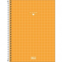 Imagem - Caderno Espiral Capa Dura Universitário 10 Matérias Académie Feminino 160 Folhas (Pacote com 4 unidades) - Sortido...