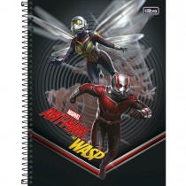 Imagem - Caderno Espiral Capa Dura Universitário 10 Matérias Ant-Man 160 Folhas - Sortido (Pacote com 4 unidades)...