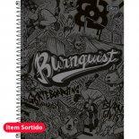 Imagem - Caderno Espiral Capa Dura Universitário 10 Matérias Bob Burnquist - 200 Folhas - Sortido (Pacote ...