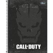 Imagem - Caderno Espiral Capa Dura Universitário 10 Matérias Call of Duty 160 Folhas - Sortido