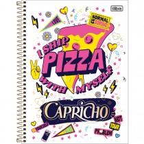 Imagem - Caderno Espiral Capa Dura Universitário 10 Matérias Capricho 200 Folhas (Pacote com 4 unidades) - Sortido...