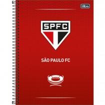 Imagem - Caderno Espiral Capa Dura Universitário 10 Matérias Clube de Futebol São Paulo 160 Folhas (Pacote com 4 unidades) - Sortido...