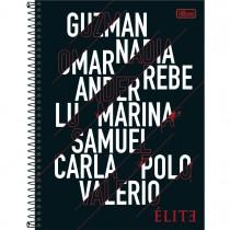 Imagem - Caderno Espiral Capa Dura Universitário 10 Matérias Elite 160 Folhas - Sortido