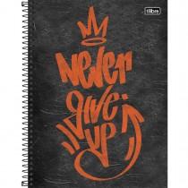 Imagem - Caderno Espiral Capa Dura Universitário 10 Matérias Graffiti 160 Folhas - Sortido