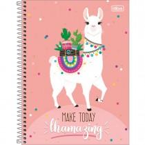 Imagem - Caderno Espiral Capa Dura Universitário 10 Matérias Hello! 160 Folhas - Sortido