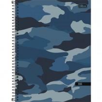 Imagem - Caderno Espiral Capa Dura Universitário 10 Matérias Hide 160 Folhas - Sortido