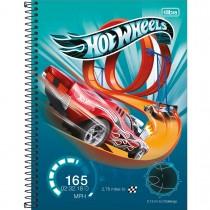 Imagem - Caderno Espiral Capa Dura Universitário 10 Matérias Hot Wheels 160 Folhas (Pacote com 4 unidades) - Sortido...