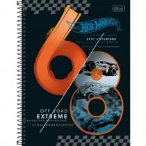 Imagem - Caderno Espiral Capa Dura Universitário 10 Matérias Hot Wheels Concept 160 Folhas (Pacote com 4 unidades) - Sortido...